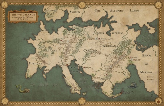 witchlands map