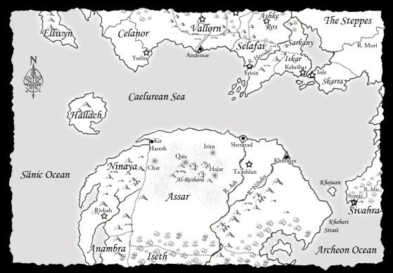 necromancer chronicles map