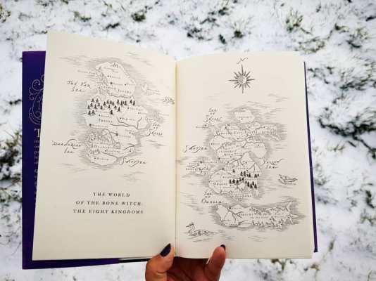 bone witch map