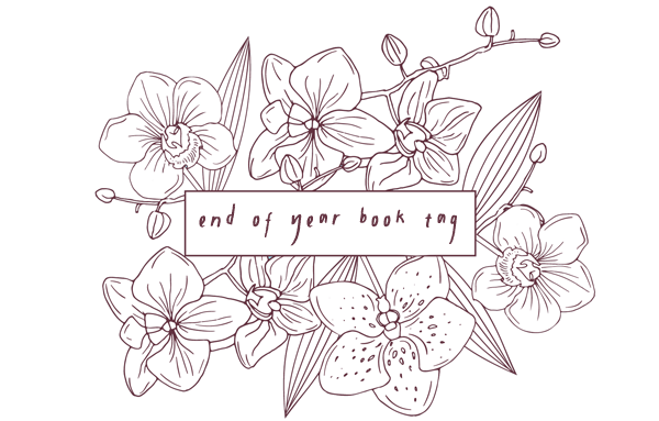 end of year book tag